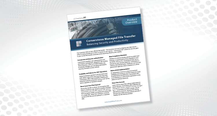 Cornerstone MFT Product Sheet
